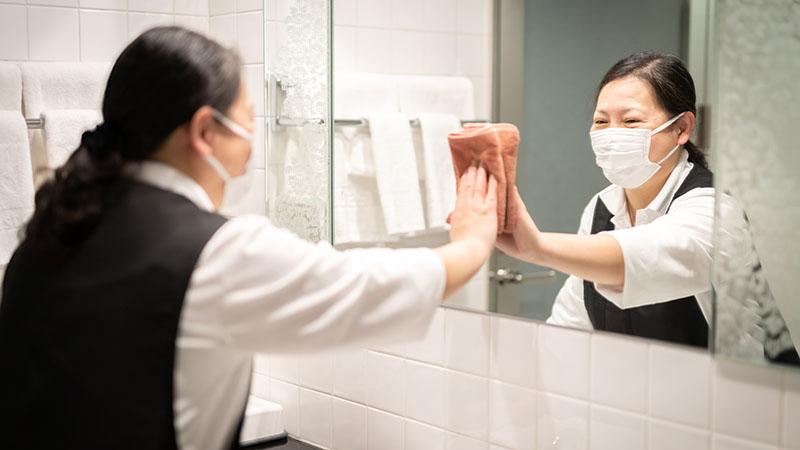 リゾートホテルの一般清掃(パート・アルバイト)
